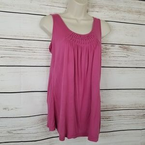 🎀3/$20 Cache Pleated Front Tank Top EUC